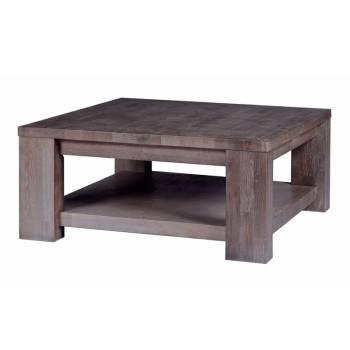 Table Basse Carrée Volca Chêne - mobilier haut de gamme
