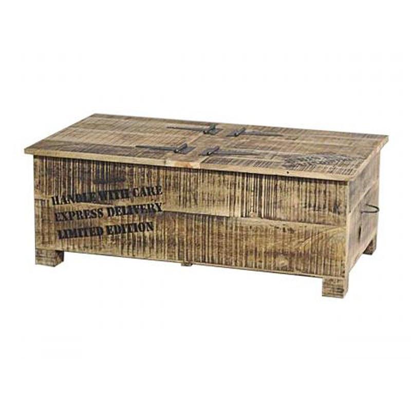 Table Basse Rangement Factory Mobilier Industriel
