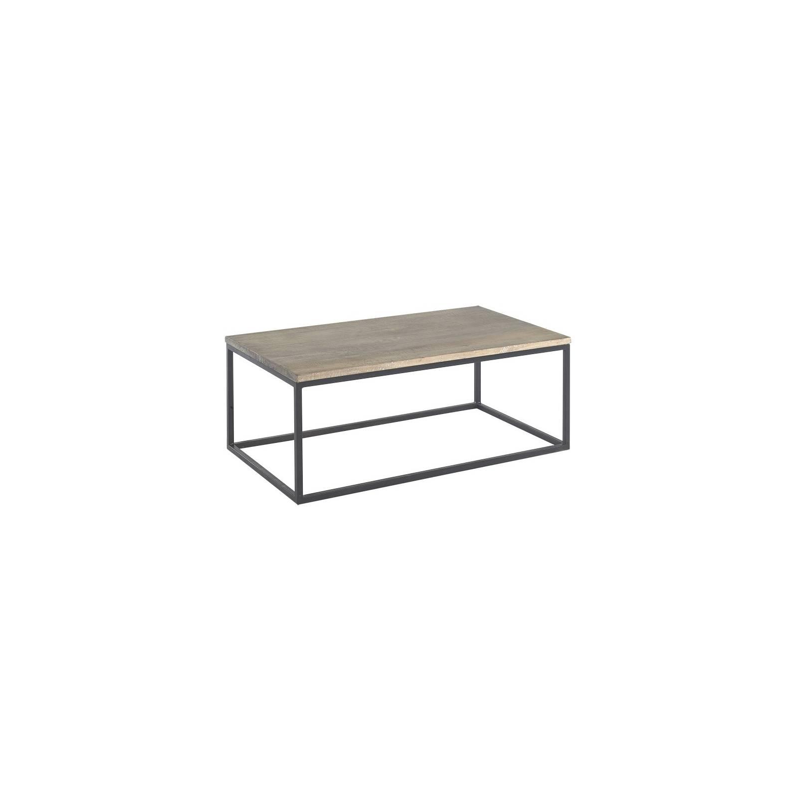 table basse fer forg vendme manguier meuble classique