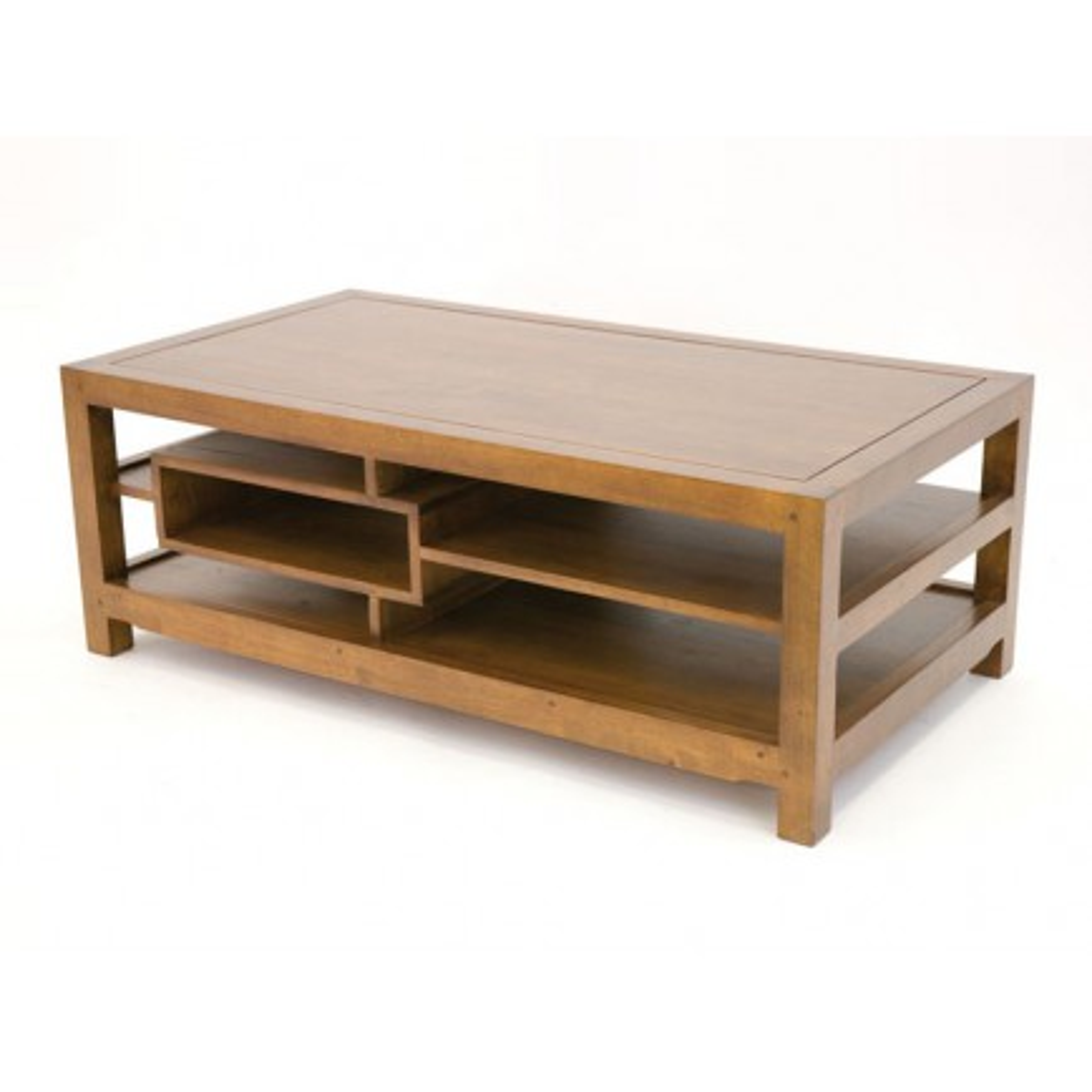 Table basse Design Fjord Hévéa - meuble déco