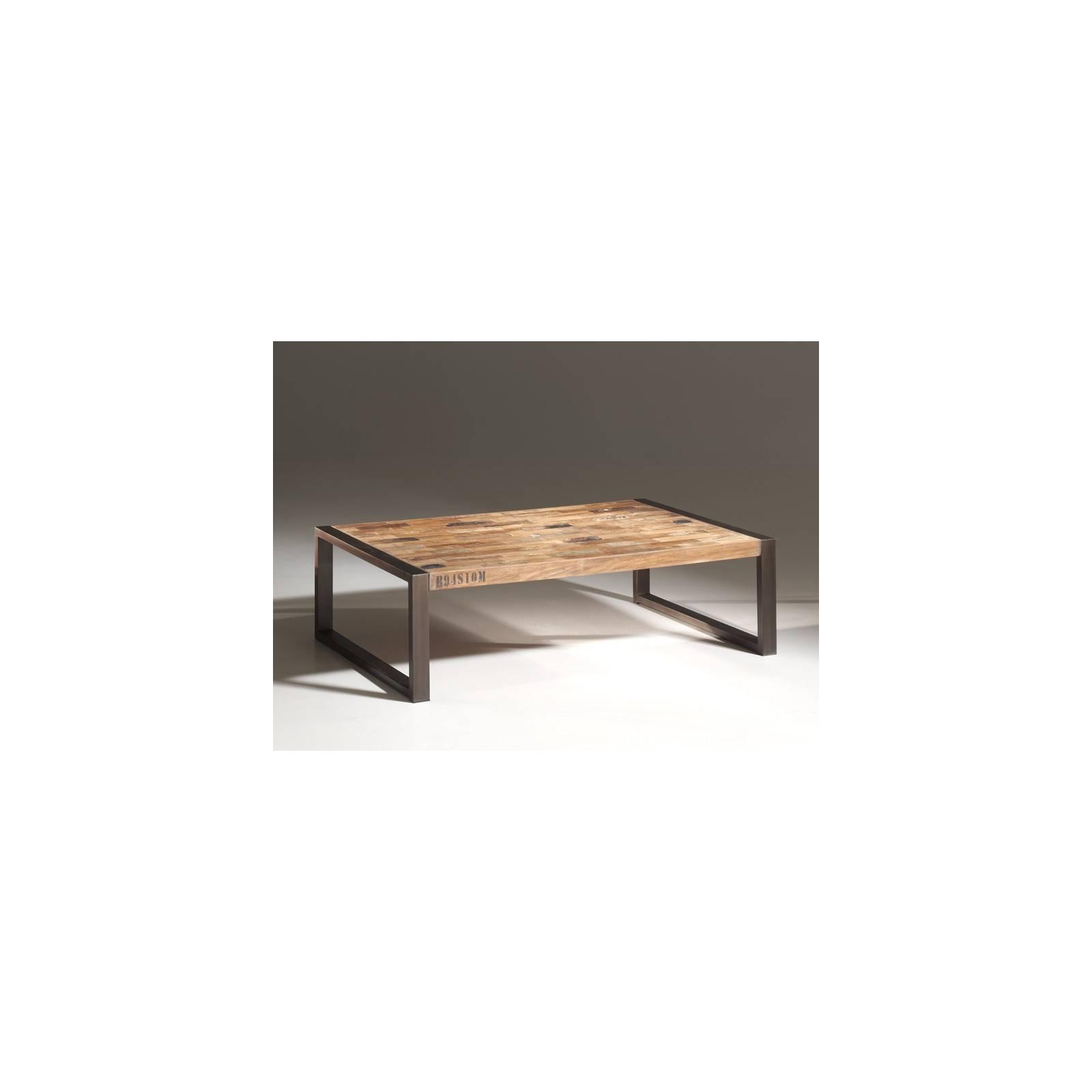 table basse isis l 39 esprit industriel d co pour la maison. Black Bedroom Furniture Sets. Home Design Ideas
