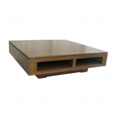 Table basse montr al meuble d co en bois massif for Meuble donner montreal