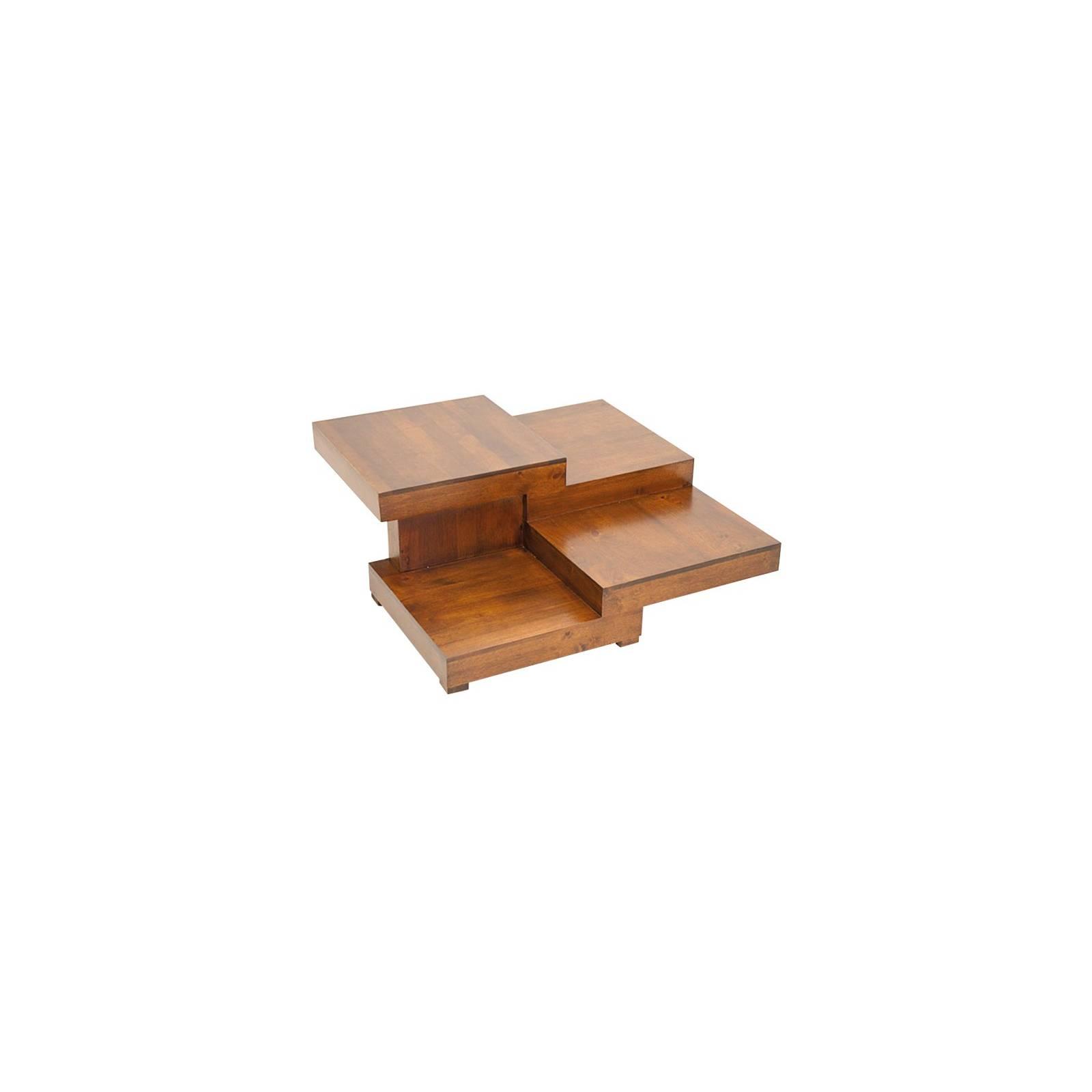 Table Basse Omega Hévéa - meuble style design