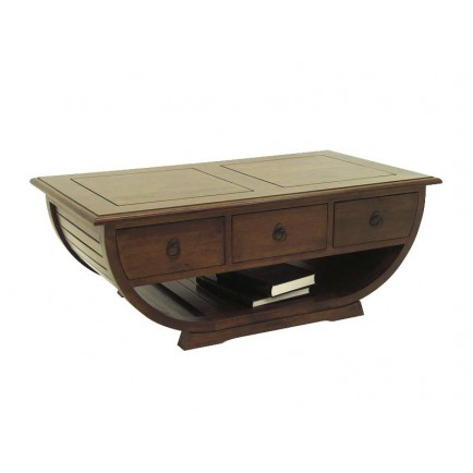 Table Basse Panama Hévéa - meuble bois massif