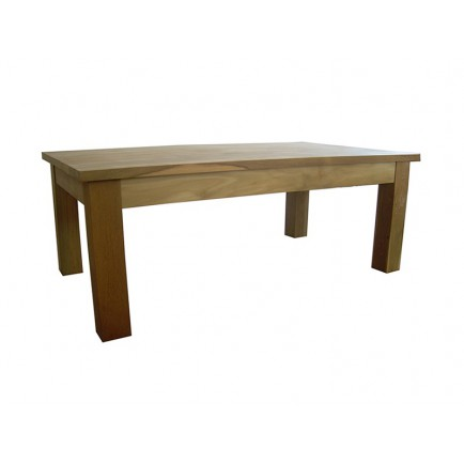 Table Basse Rectangulaire Greenface Teck Recyclé - meuble style exotique