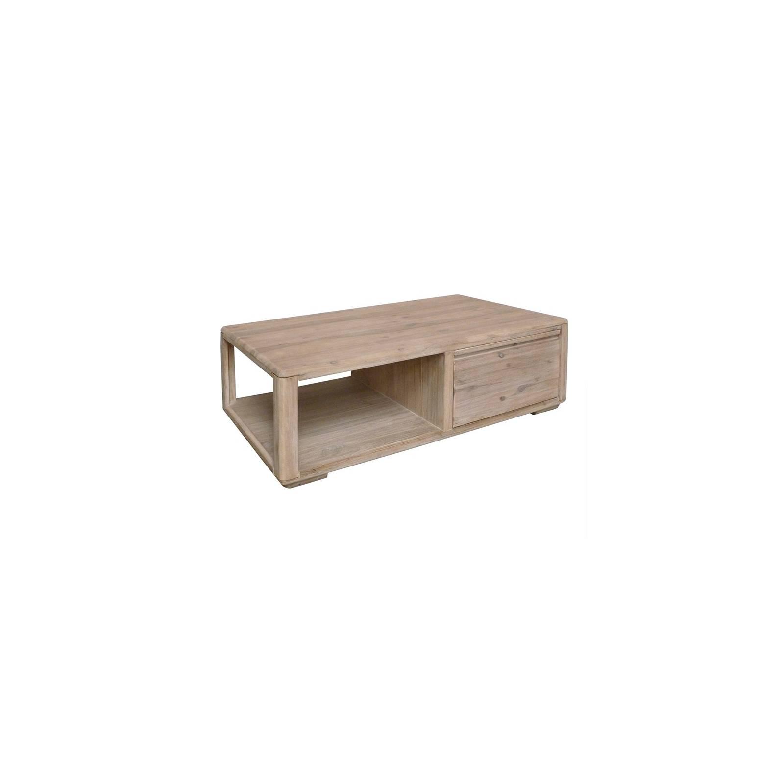 Table Basse Rectangulaire Joëlle Acacia - meuble en bois massif