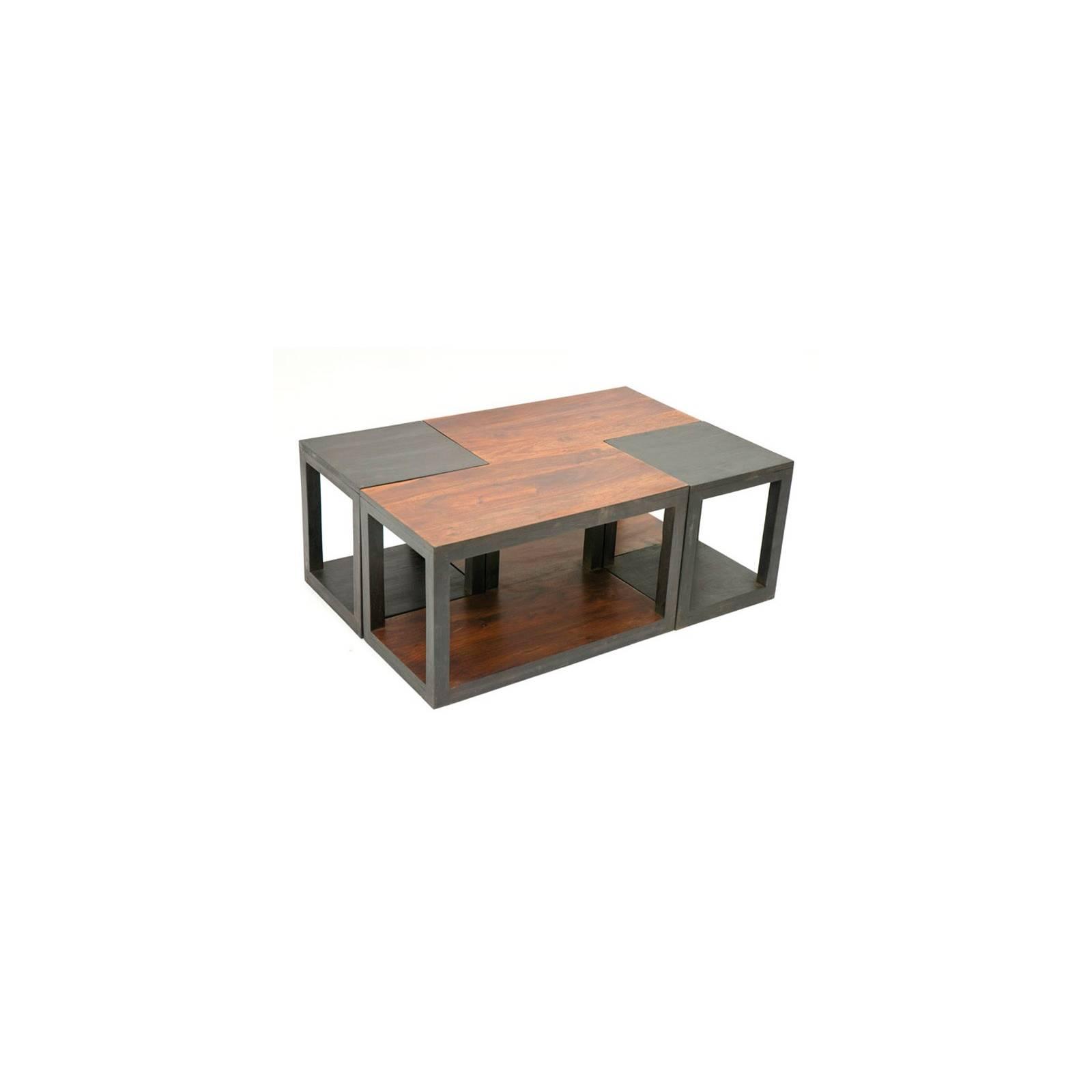 Table Basse Design Rome Palissandre - achat meuble de salon