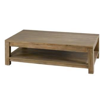 Table Basse Rectangulaire Teck Maestro - meubles bois massif