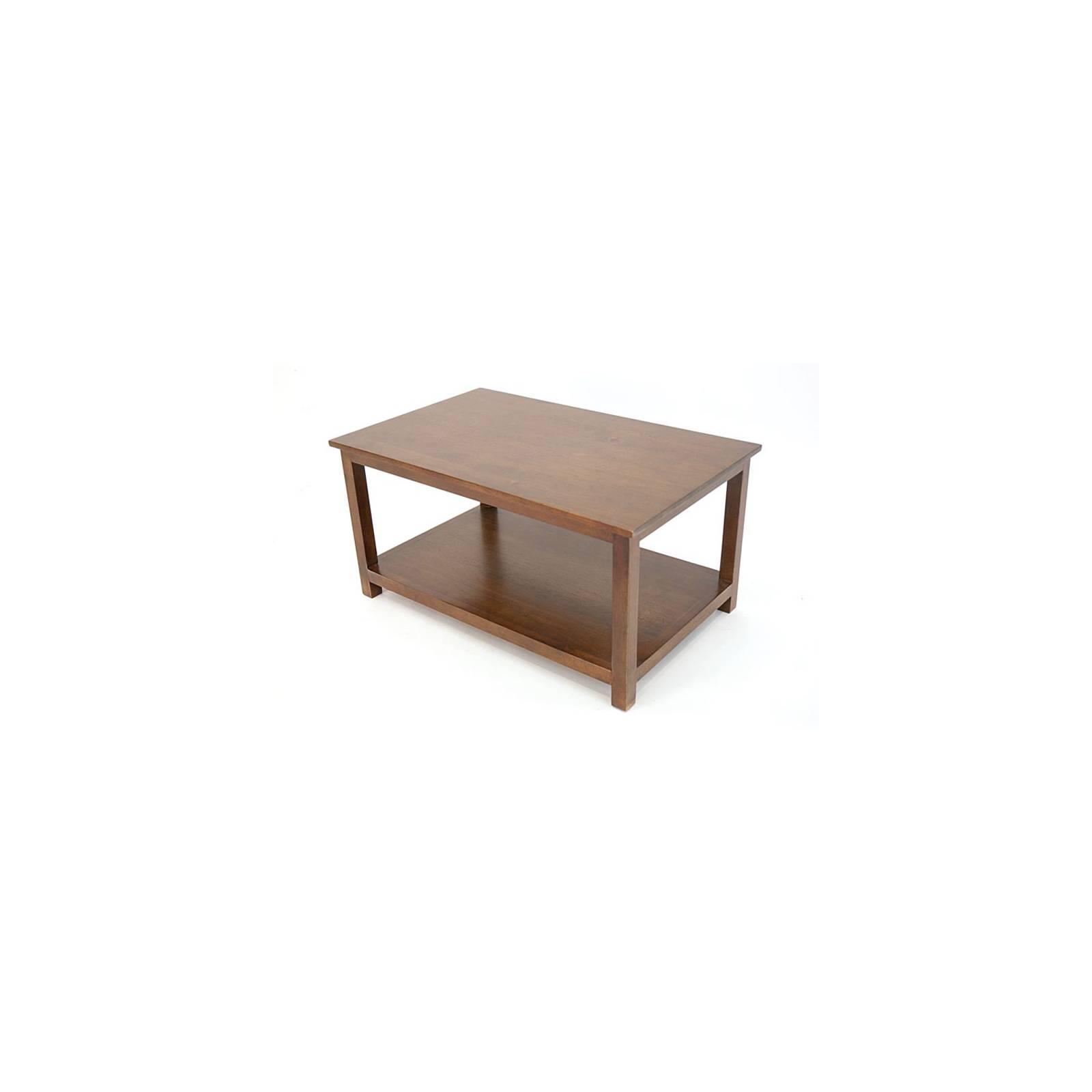 Table Basse Rectangulaire Tradition Hévéa - meuble style classique
