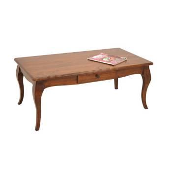 Table Basse Romance Hévéa