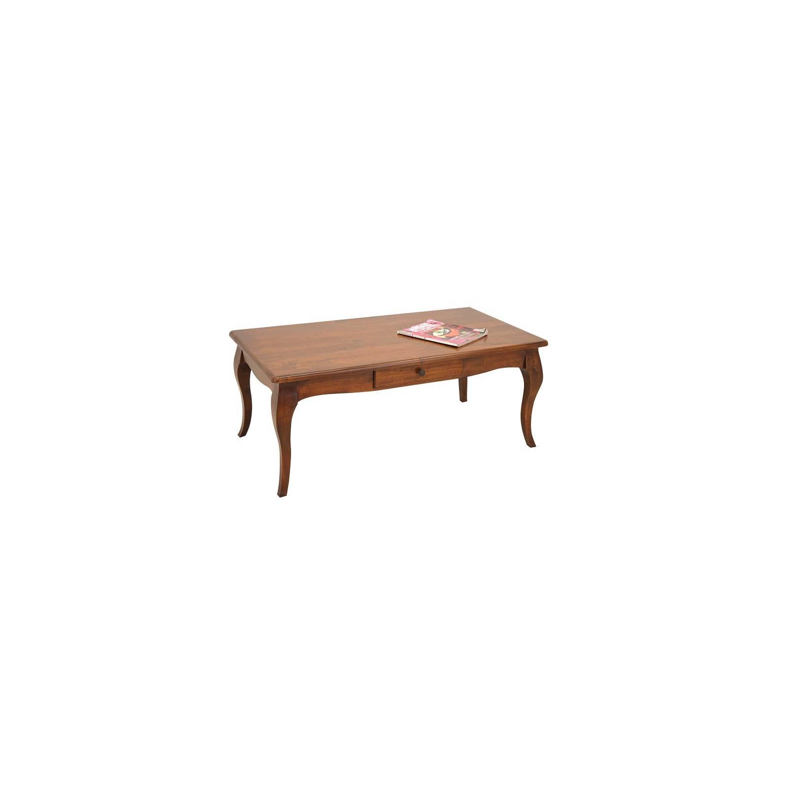 Table Basse Romance Hévéa - meuble écologique