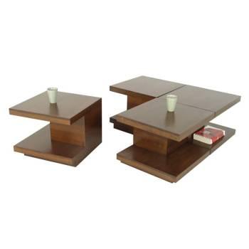 Table Basse S/4 Omega Hévéa