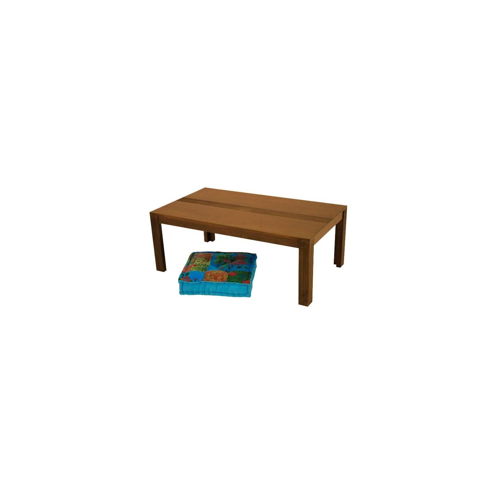 Table Basse Siguiri Hévéa - meuble colonial