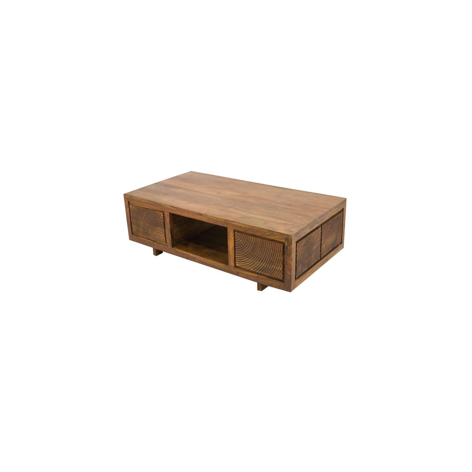Table Basse Sikasso Palissandre - meubles de salon style ethnique