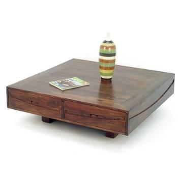 Table Basse Palissandre Soleil Levant