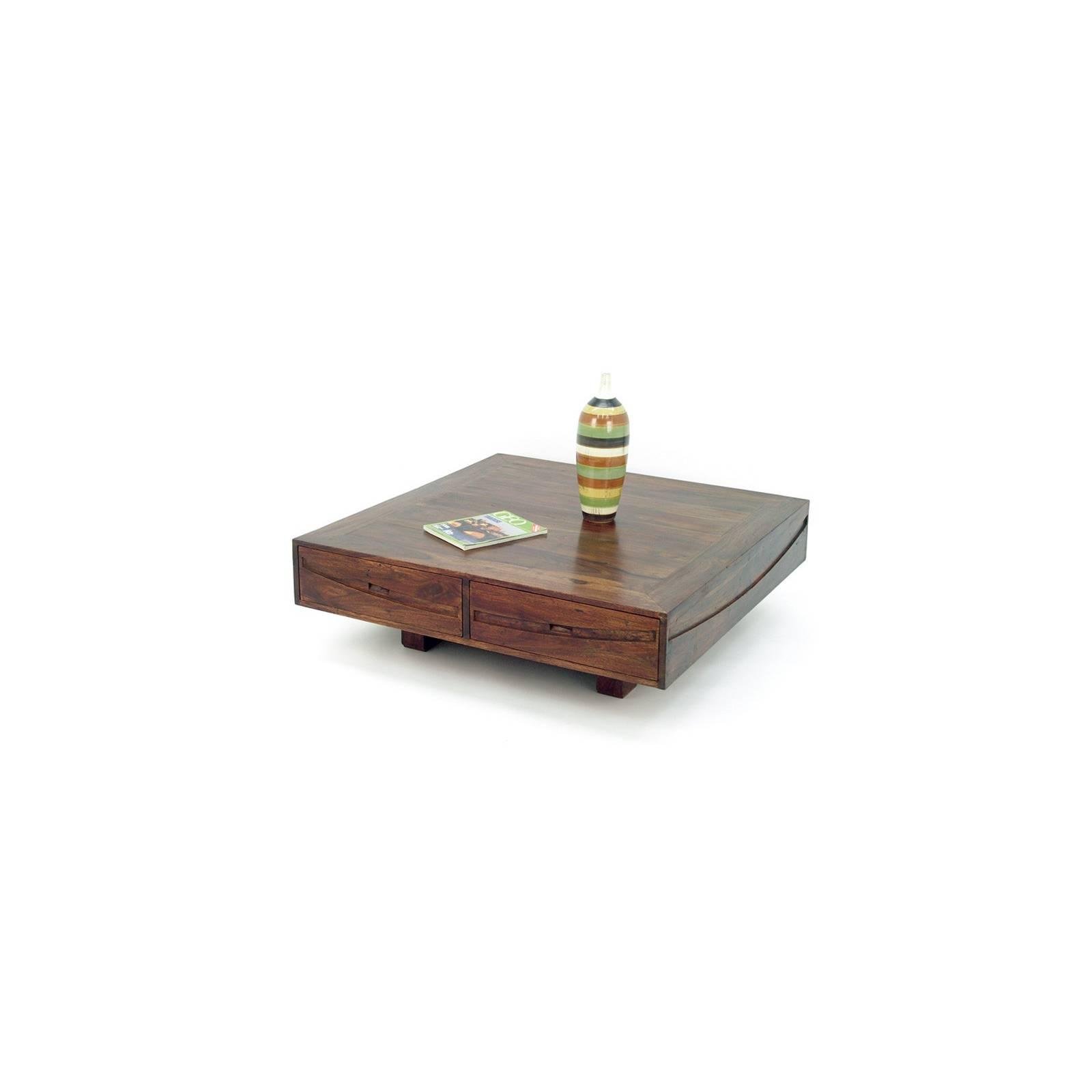 Table Basse Soleil Levant Palissandre - achat meubles bois exotique