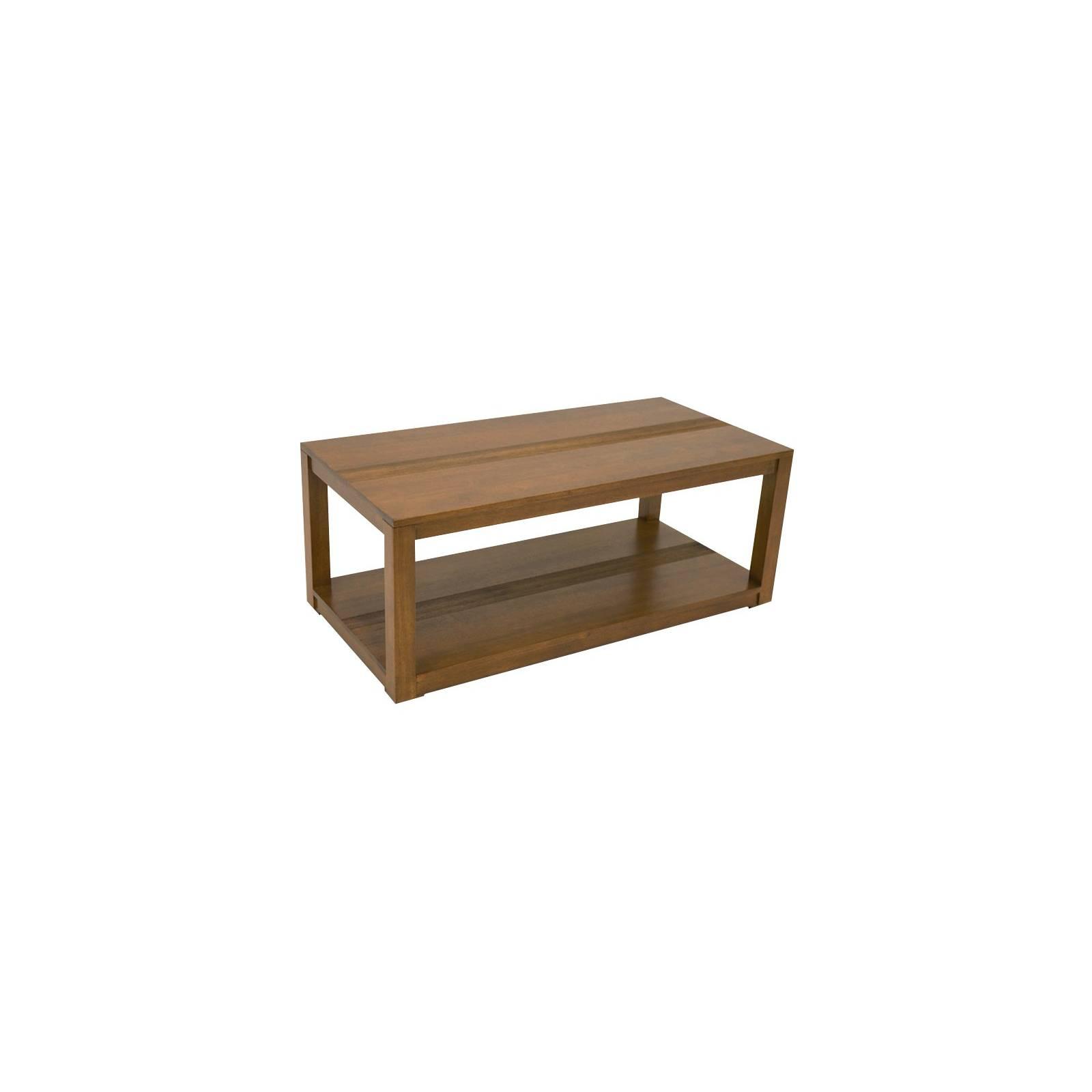 Table Basse Rectangulaire PM Siguiri Hévéa - meuble bois massif