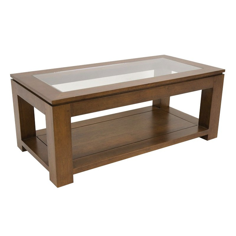 Table basse vitr e salon tendance montr al - Table basse vitree ...