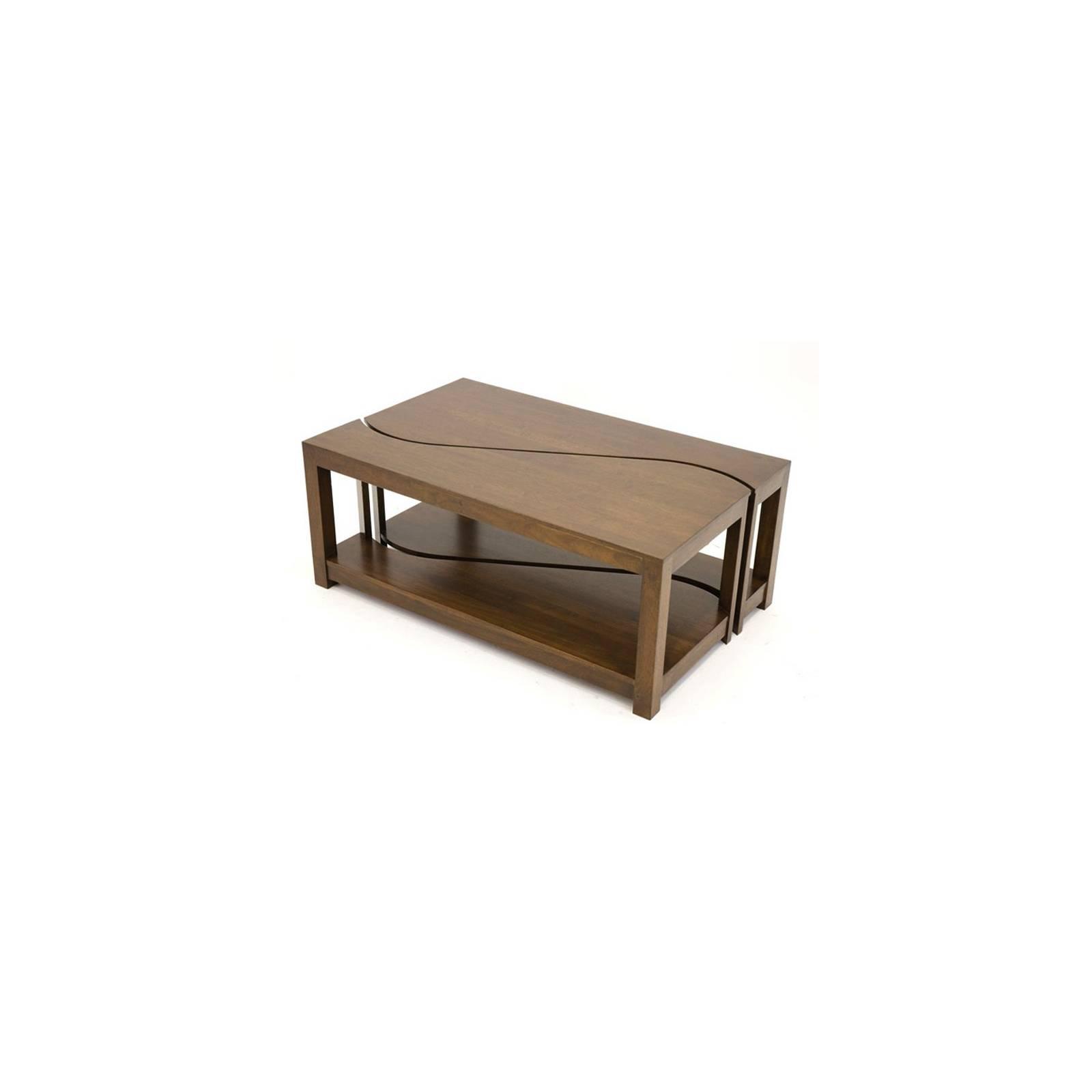 Table Basse Ying Yang S/2 Hévéa