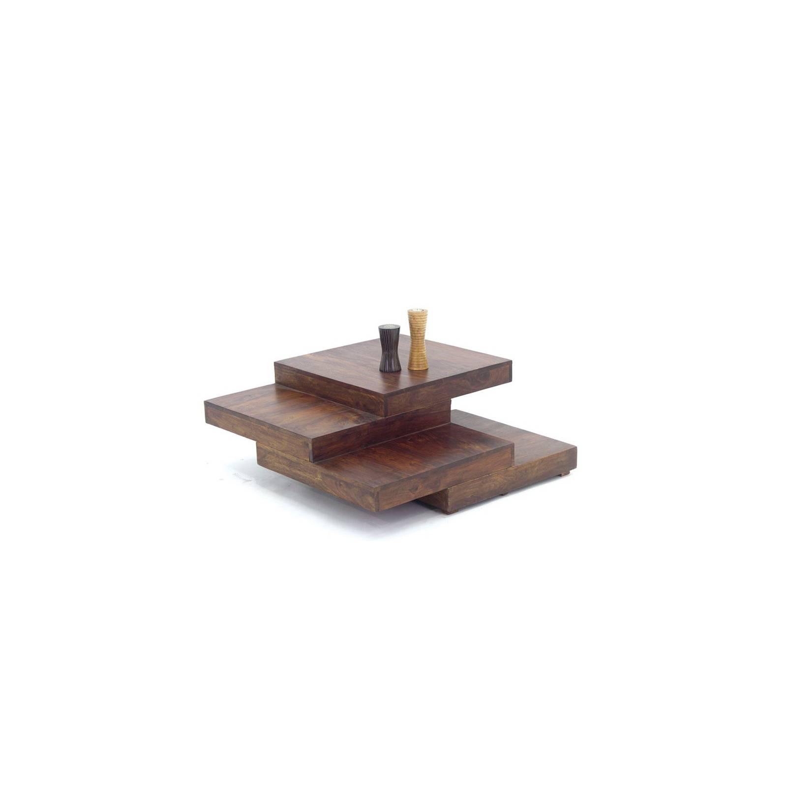 Table Basse Escalier Palissandre Zen