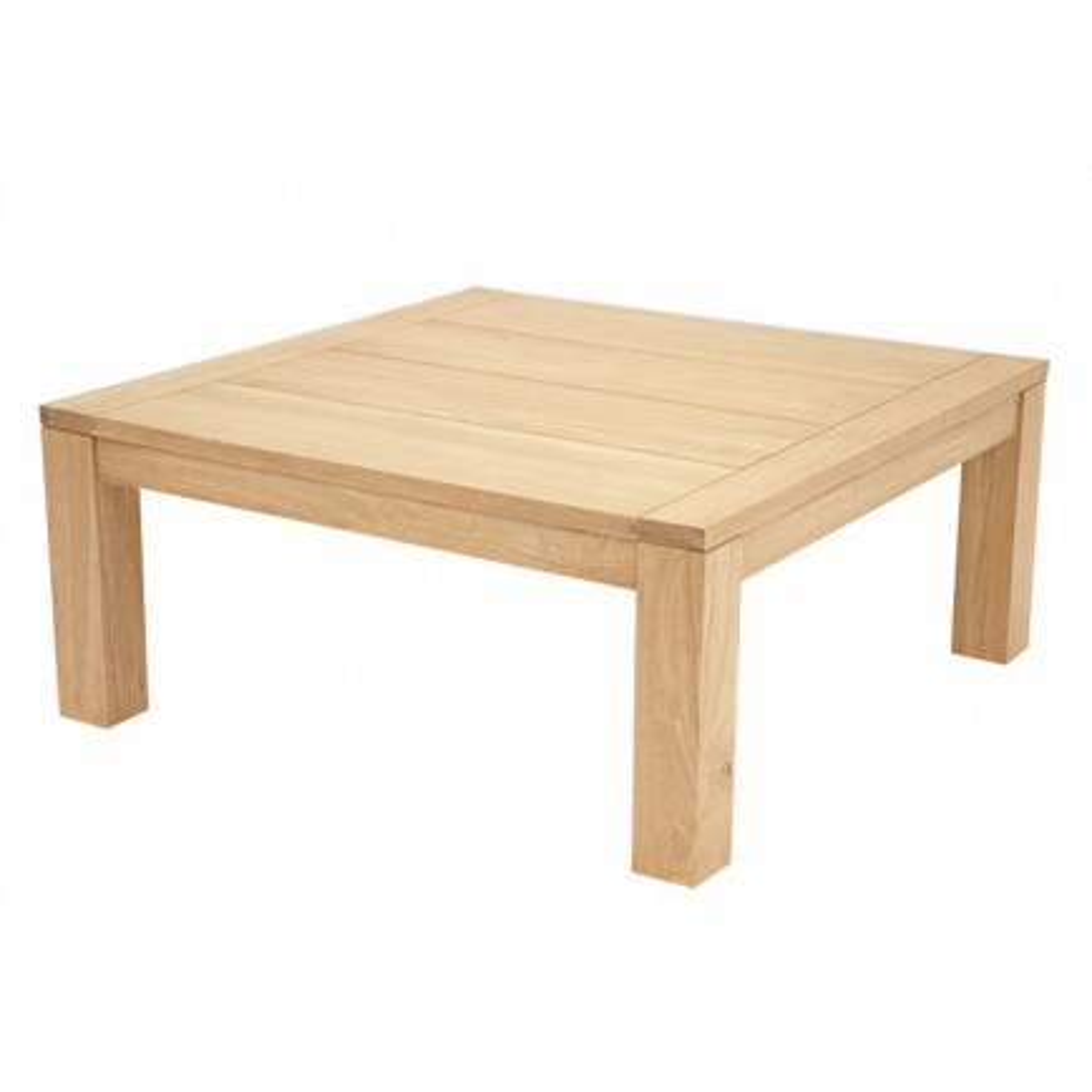 Table Carrée Hévéa Broadway - meuble en bois massif