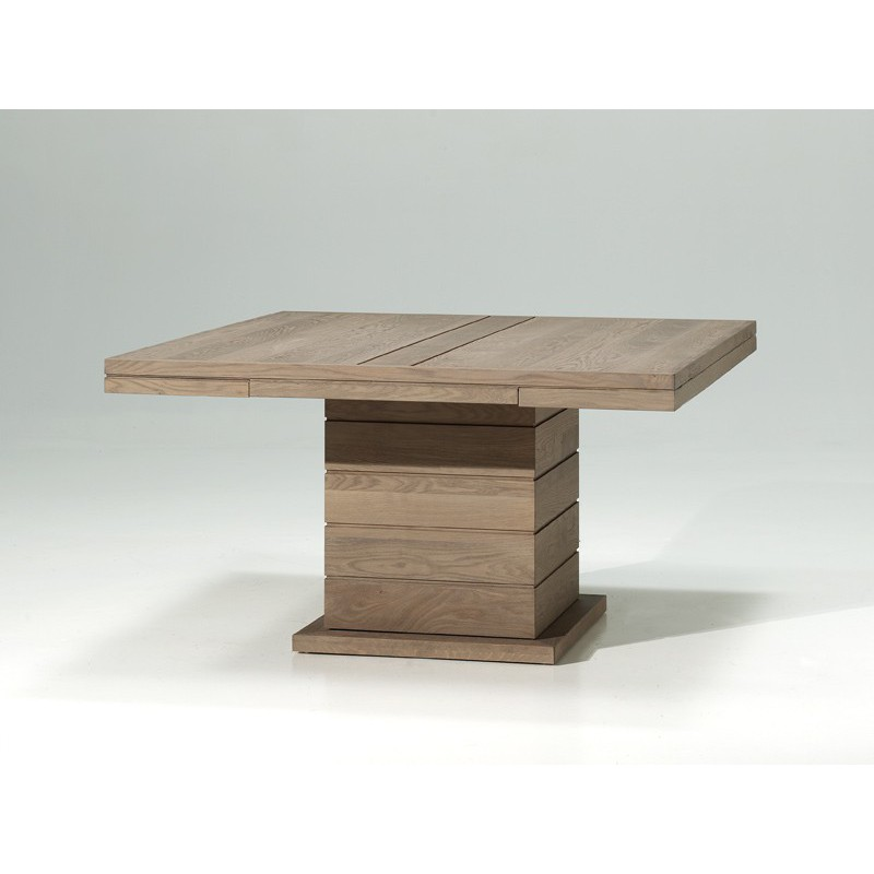 Table carree pied central - Table a manger pied central ...