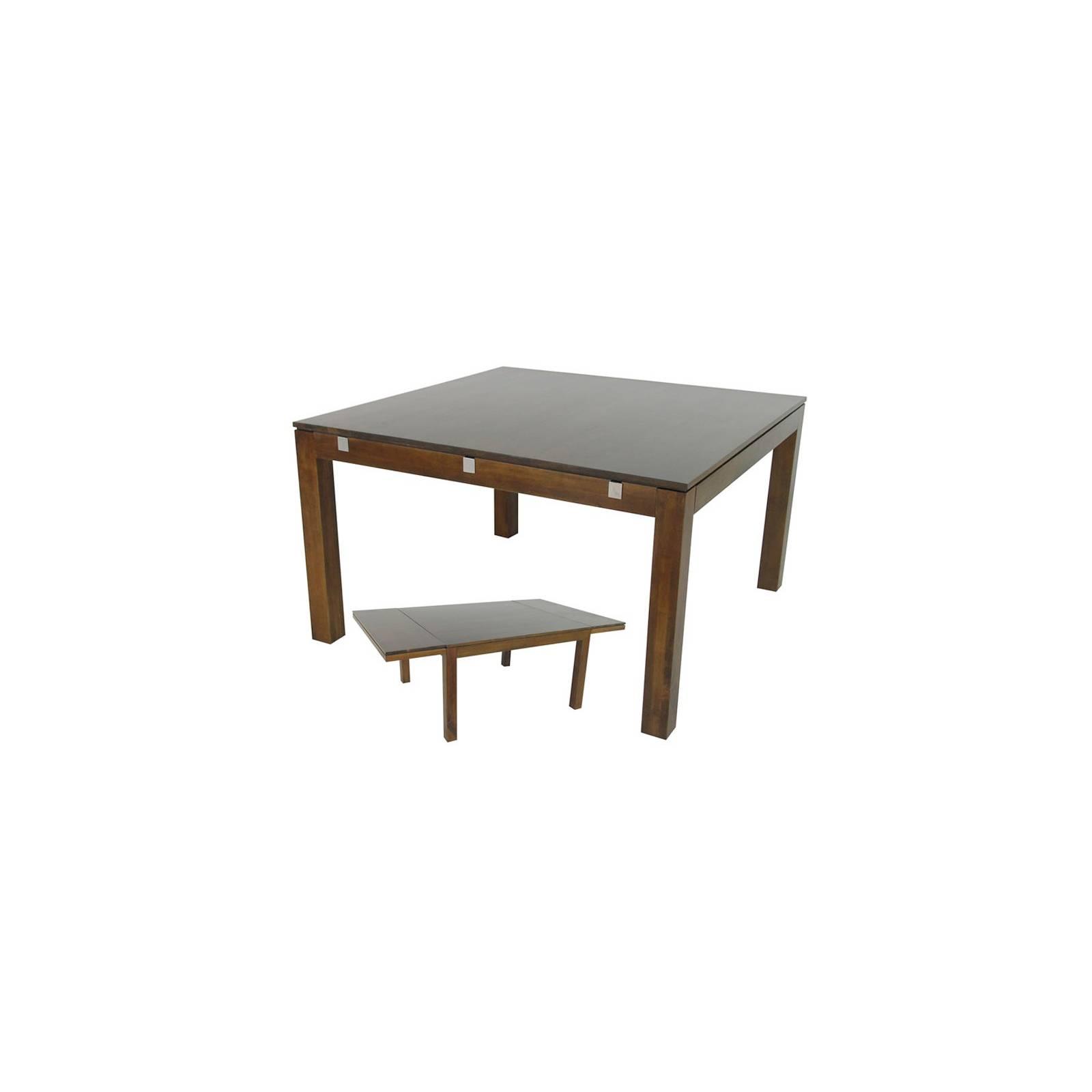 Table Carrée Montréal Hévéa - meuble écologiques