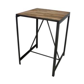 Table De Bar Mona Teck Recyclé - meuble teck massif