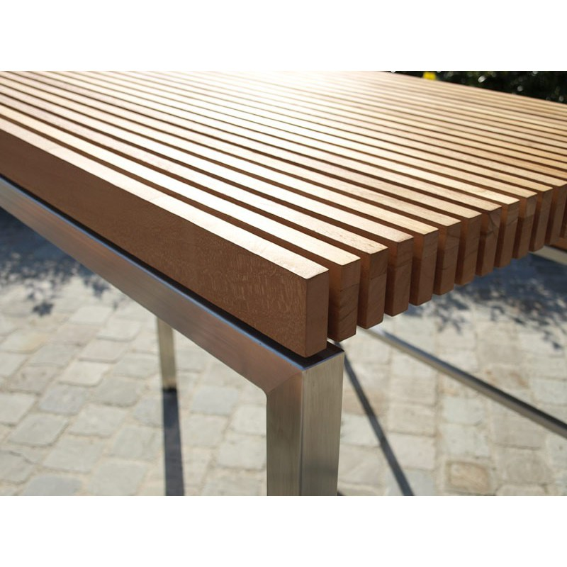 Table De Jardin GM Lechio Teck
