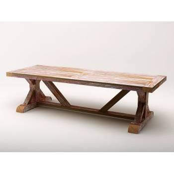 Table De Jardin Grand Modèle Pinto Teck - meuble bois massif