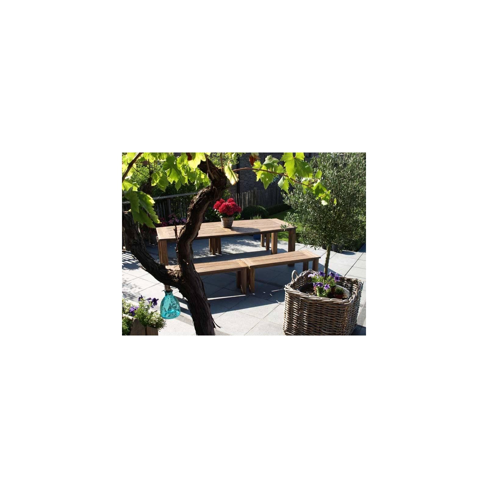 Table De Jardin Eclipse Teck
