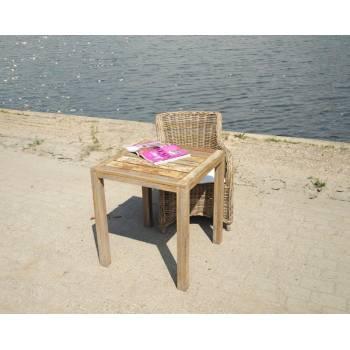 Table De Jardin Pinto Teck - meuble bois massif