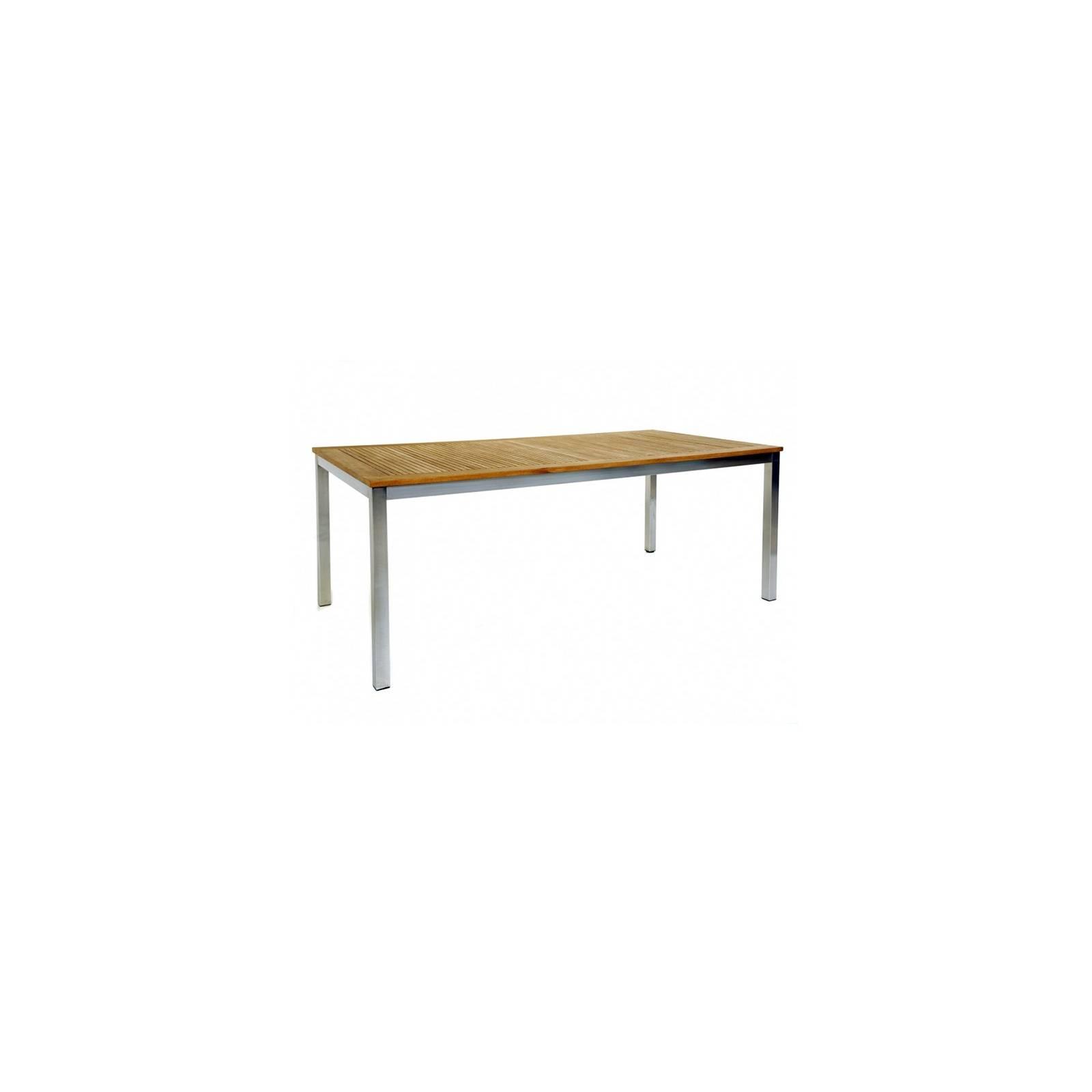 Table De Jardin Taman Teck Recyclé - meuble de jardin