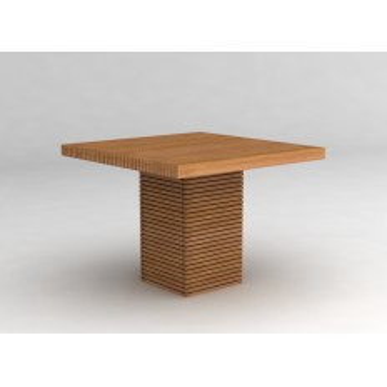 Table De Jardin Design Vicio Teck - meuble de jardin