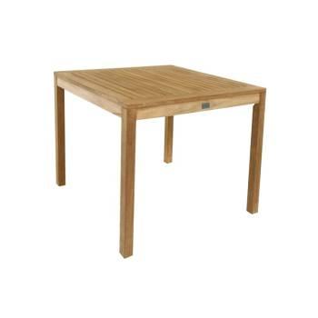 Table De Repas Carrée Taman Teck Recyclé - meuble de jardin