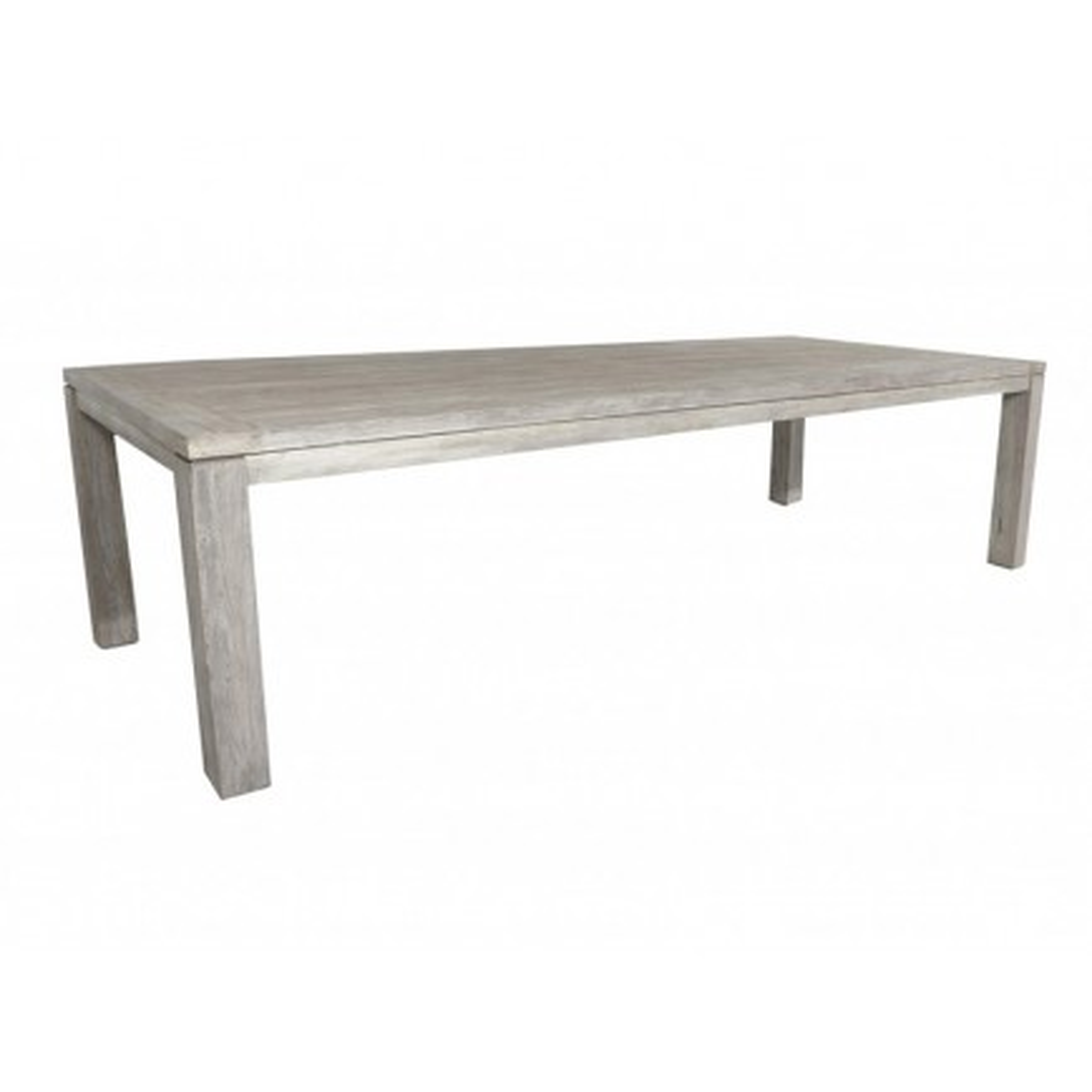 Table De Repas Grisée Taman Teck Massif - meuble de jardin