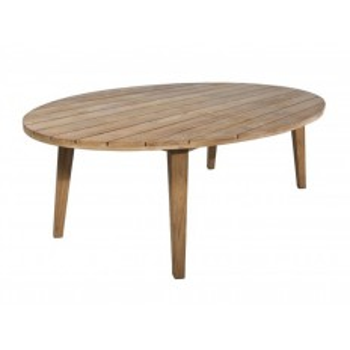 Table De Repas Ovale Taman Teck Recyclé