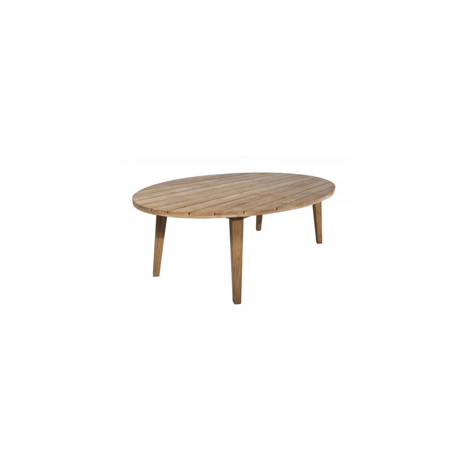 Table De Repas Ovale Taman Teck Recyclé - meuble de jardin