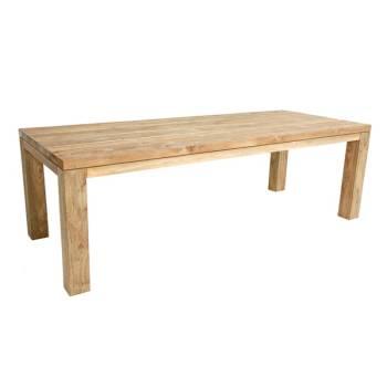 Table De Repas Rectangulaire Taman Teck Recyclé