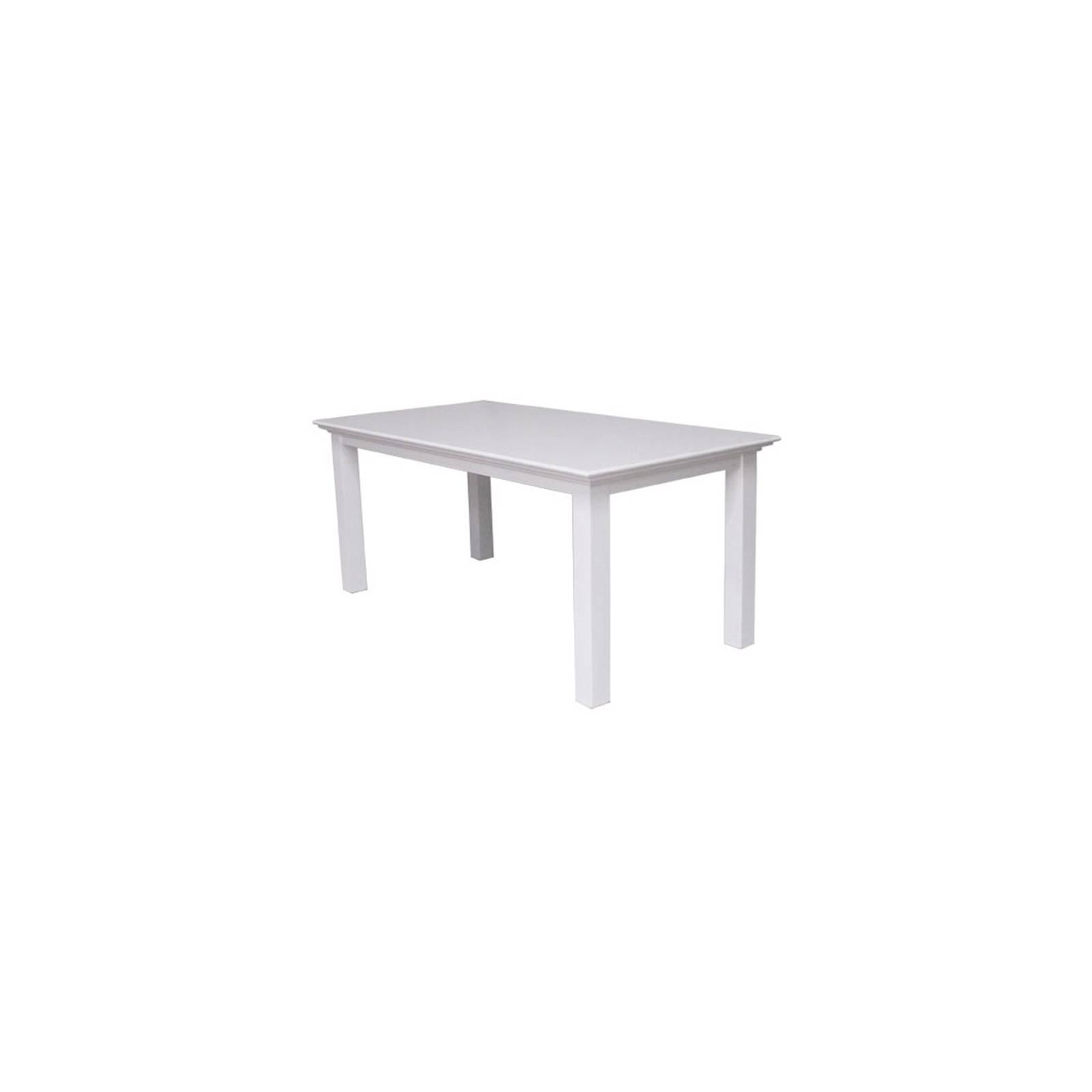 Table De Repas Rectangulaire Torini Acajou - meuble bois massif