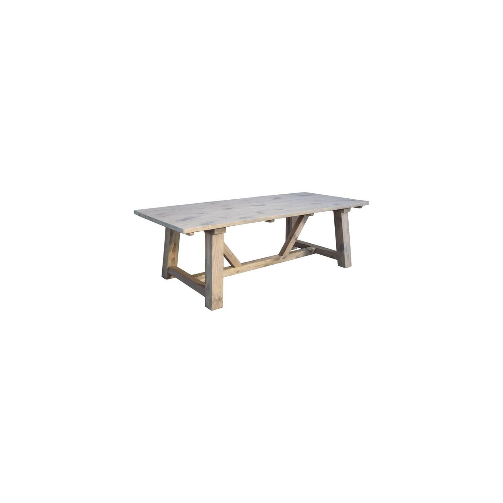 Table De Repas Rectangulaire Vendôme Manguier - meuble classique