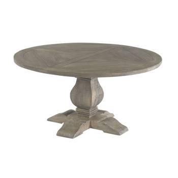 Table De Repas Ronde Vendôme Manguier - meuble classique