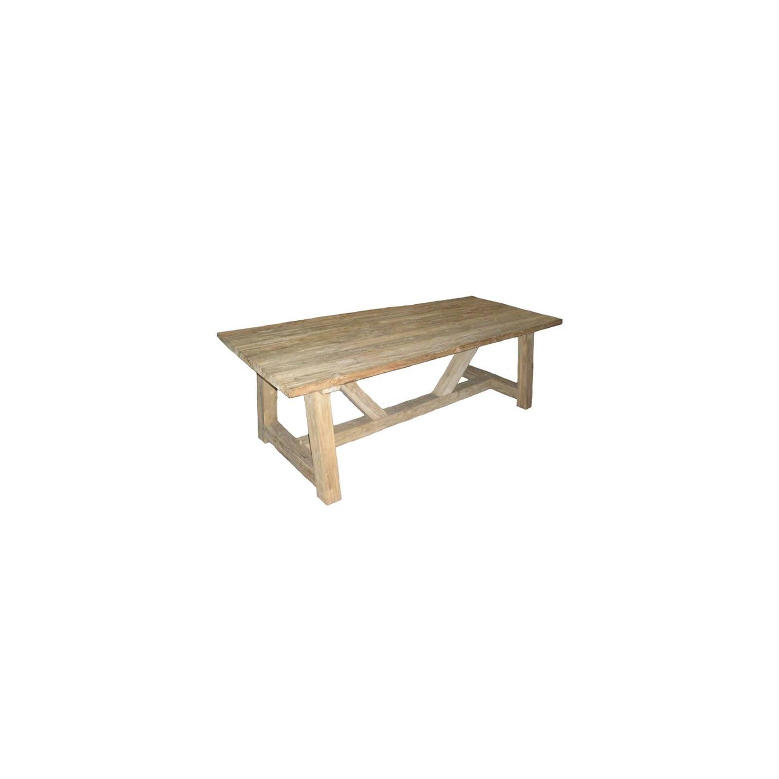 Table De Repas Taman Teck Recyclé