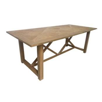Table De Séjour Alice Teck - meuble bois exotique