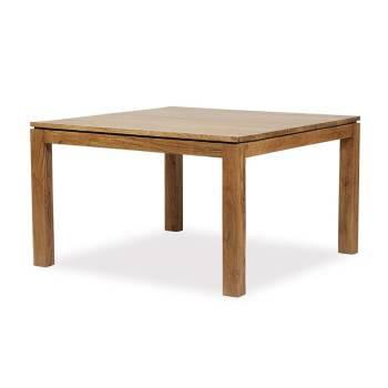 Table de repas carr e tables avec rallonge pour la salle - Table sejour carree ...
