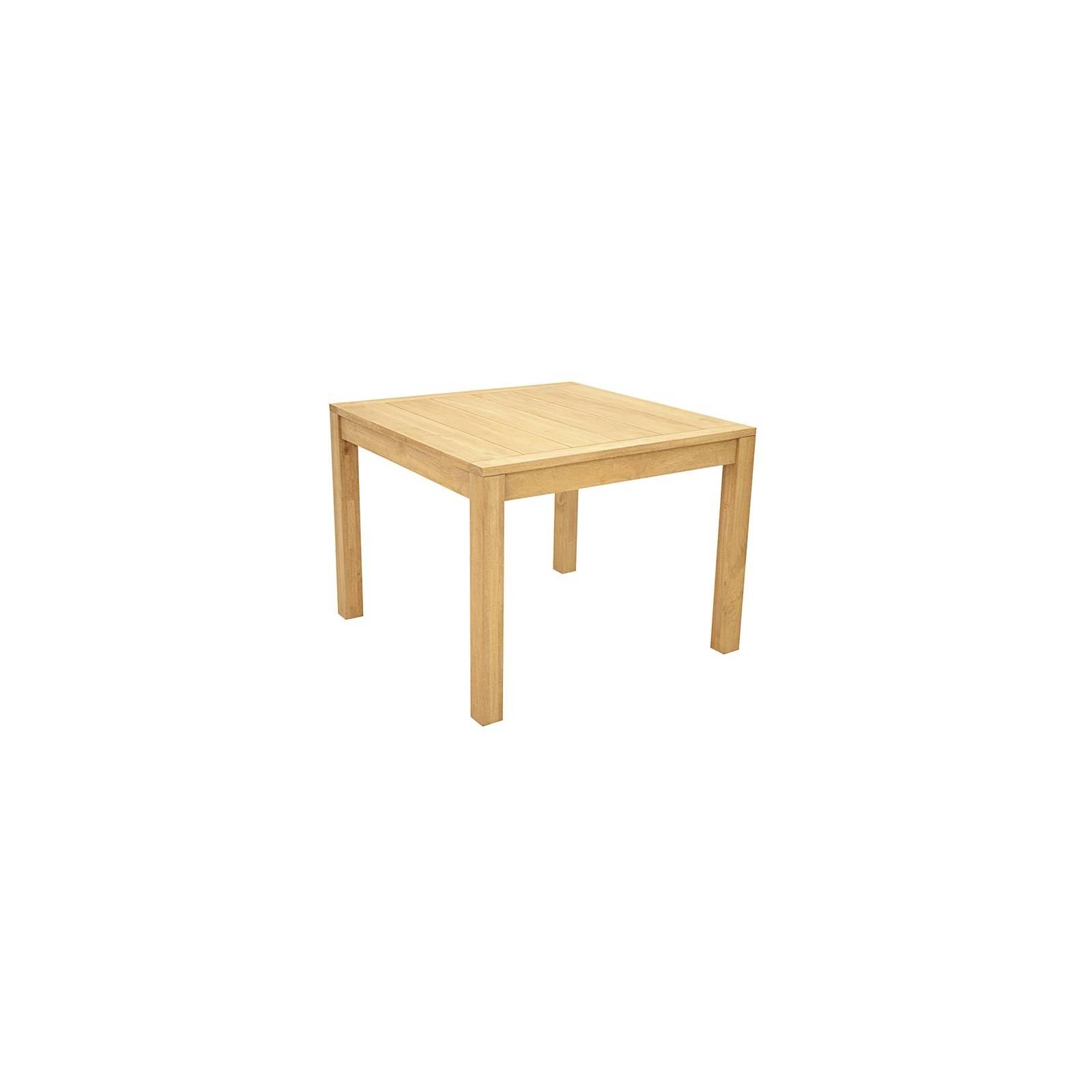 Table De Séjour Carrée Fjord Hévéa - meuble déco