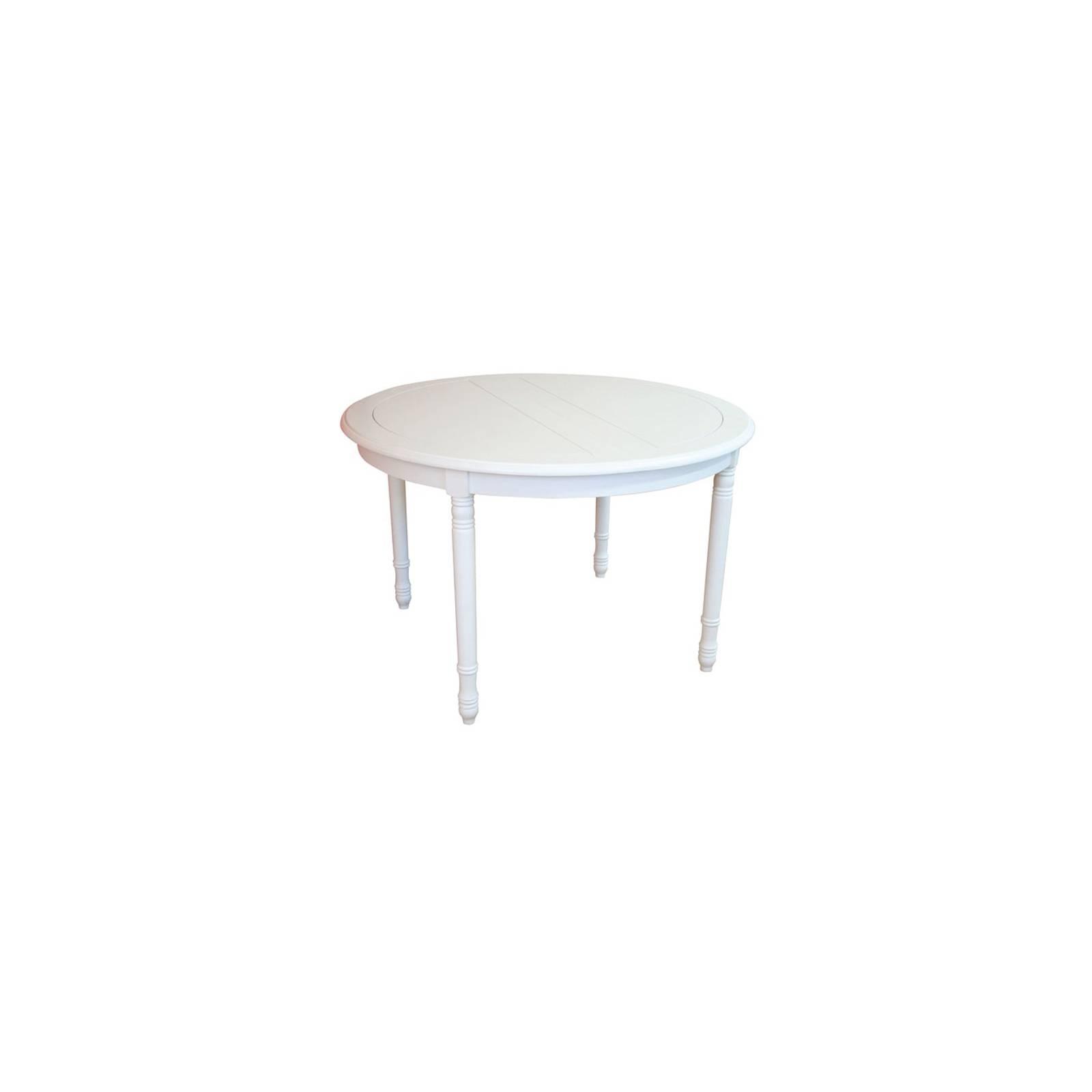 Table De Séjour Charme Hévéa - meuble style classique