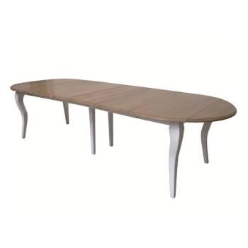Table De Séjour Familliale Pin Camille - achat meuble au style classique