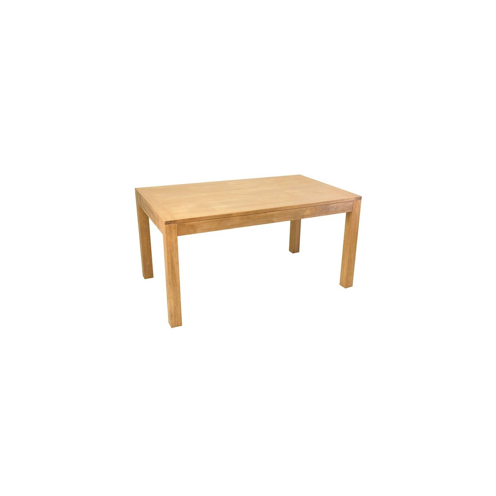 Table De Séjour Grand Format Fjord Hévéa - meuble déco