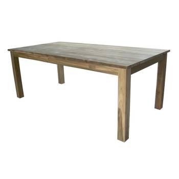 Table De Séjour Greenface Teck Recyclé